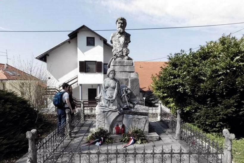 Spomenik ocu domovine Anti Starčeviću u Šestinama kraj Zagreba