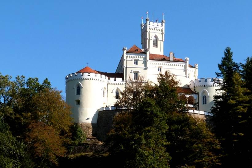 Un luogo fiabesco in Croazia - romantico Castello Trakošćan