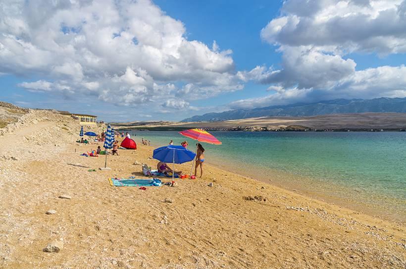 Spiaggia Čista a Kolan