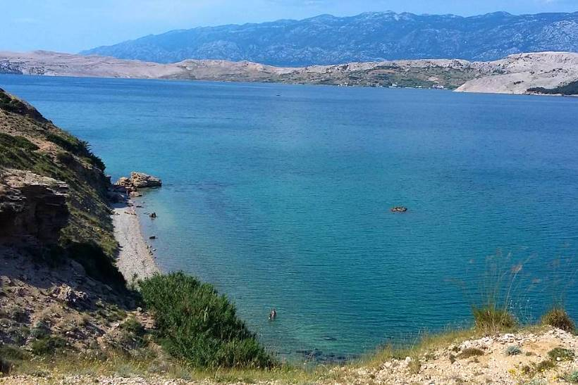 Spiaggia Elena a Pag
