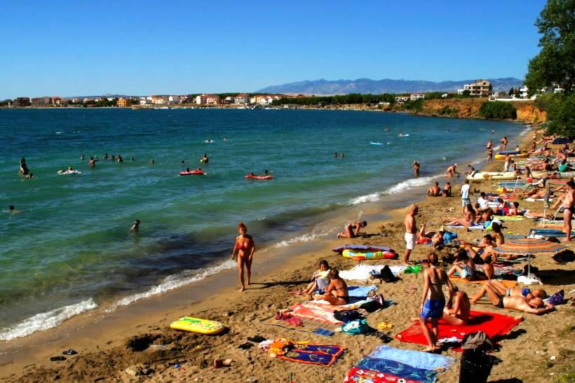 Spiaggia Perilo a Povljana